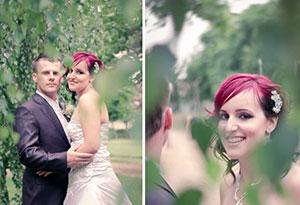 Esküvői fotózás a Dunánál