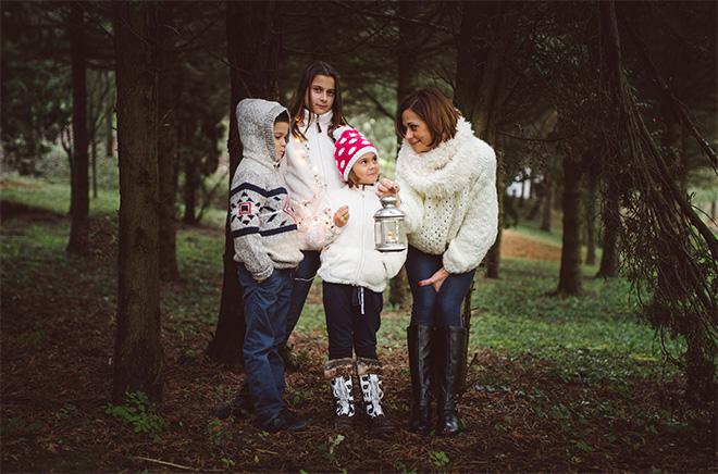 családi fotózás karácsonyi pécs