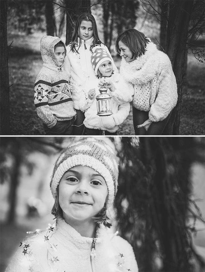 családi fotózás karácsonyra pécs