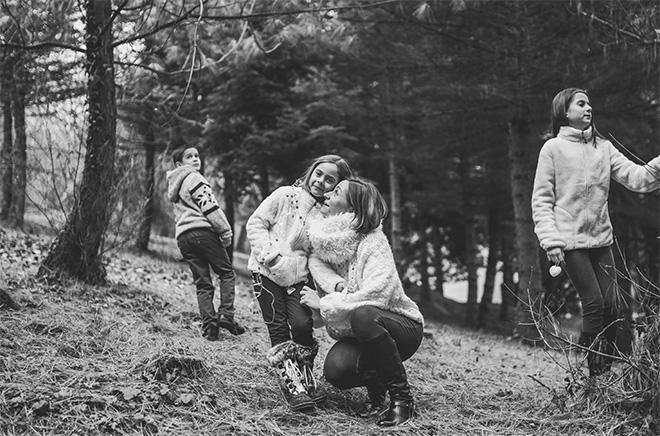 család fotó karácsonyra