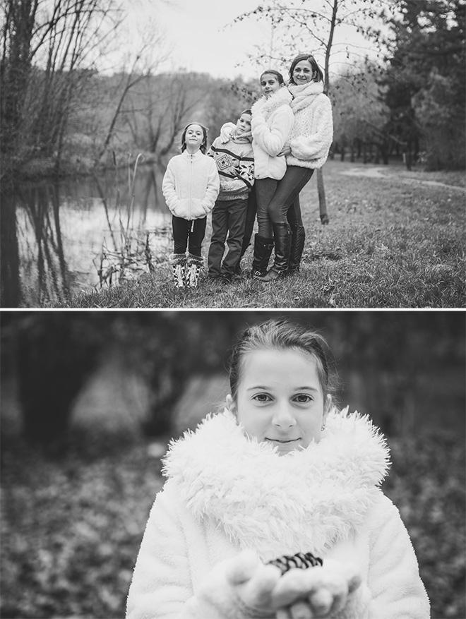 szabadtéri család fotózás