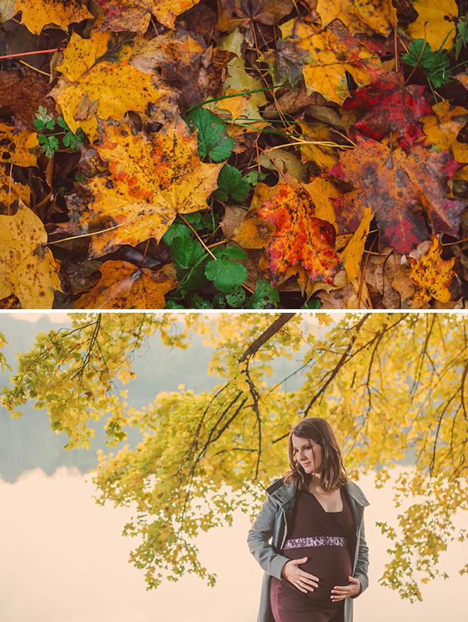 őszi kismama fotózás pécs