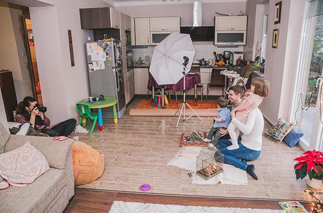 család fotózás otthon pécs és környéke
