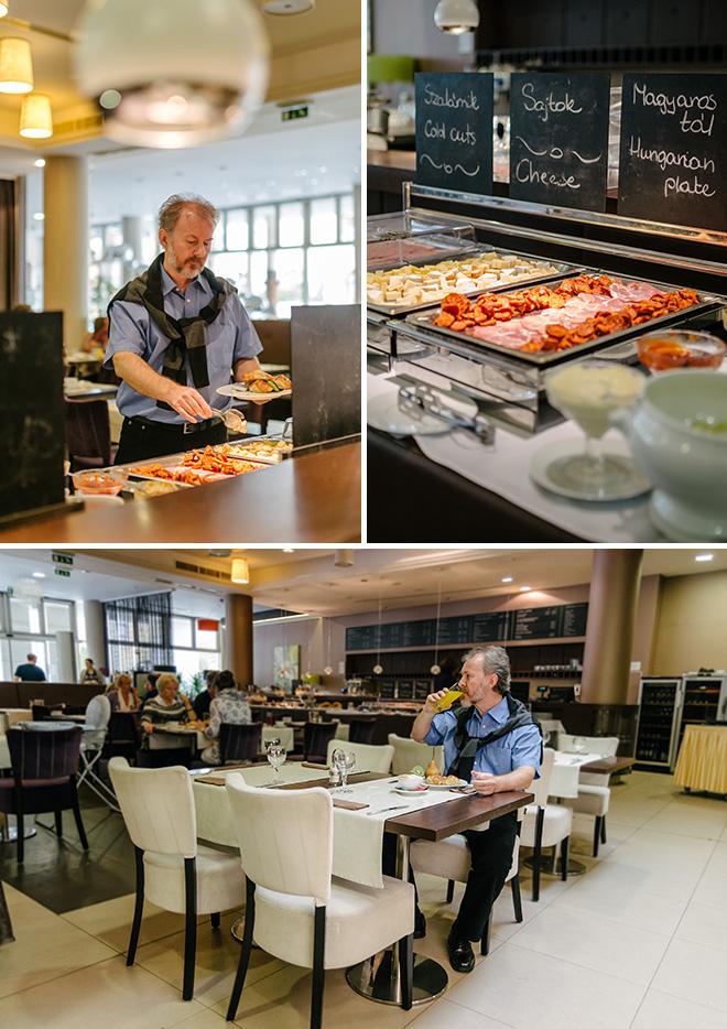 Corso Hotel étterem Pécs haru fotó