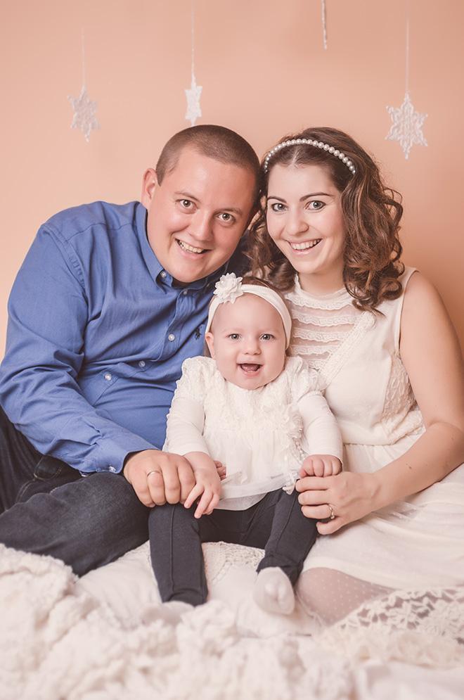 karácsonyi családi fotózás Pécs