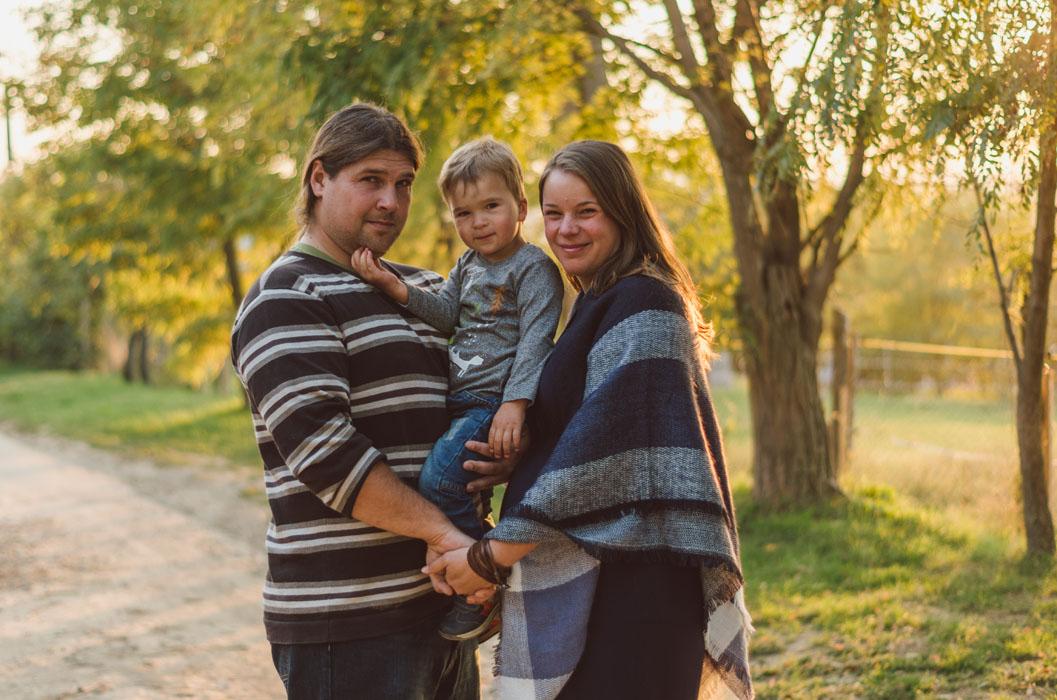 családi fotózás Haru Paks 2