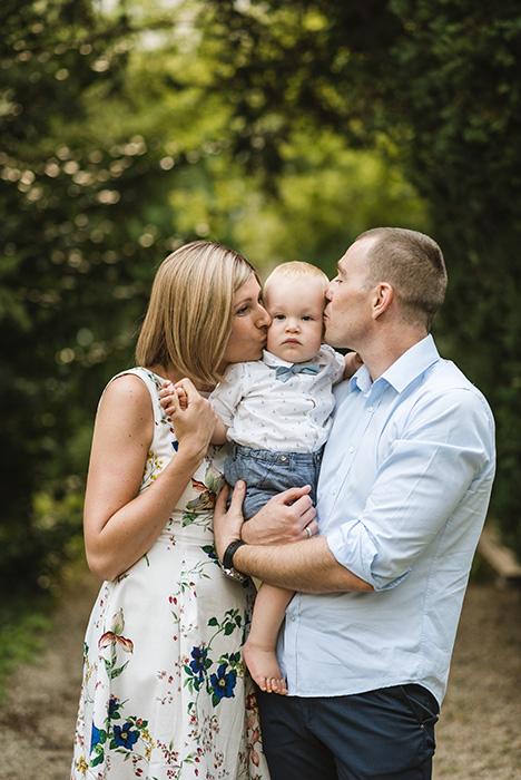 család fotós